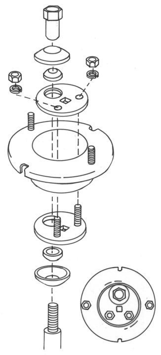 northstar manufacturing 1997 Ford Tempo this kit features fully rotatable discs that are housed in a specially designed upper mounted strut plate rotation of these discs allows controlled