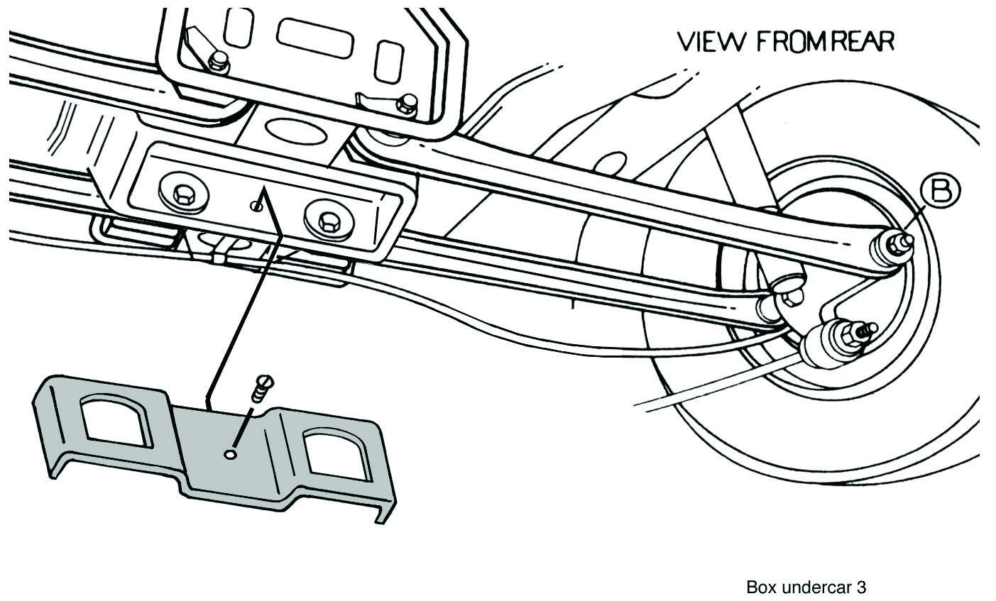 saturn rear suspension diagram